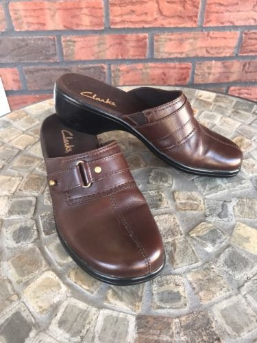 afcfec9a28d73 Ladies Clarks Size 6 Flexible Brown Leather and similar items. 12