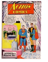 ACTION COMICS #307 1963-SUPERMAN-SUPERGIRL WEDDING DC VG - $31.53