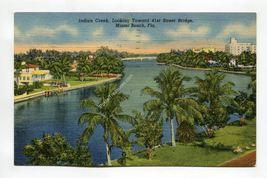 Indian Creek Looking Toward 41st Street Bridge Miami Beach Florida - $0.99