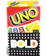UNO/BOLD - 2 Card Games in One - $19.83 CAD