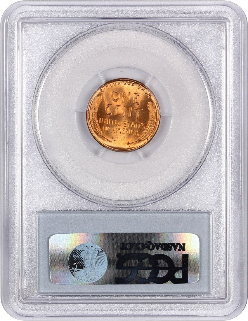 1945-D 1c PCGS MS66 RD - Lincoln Cent