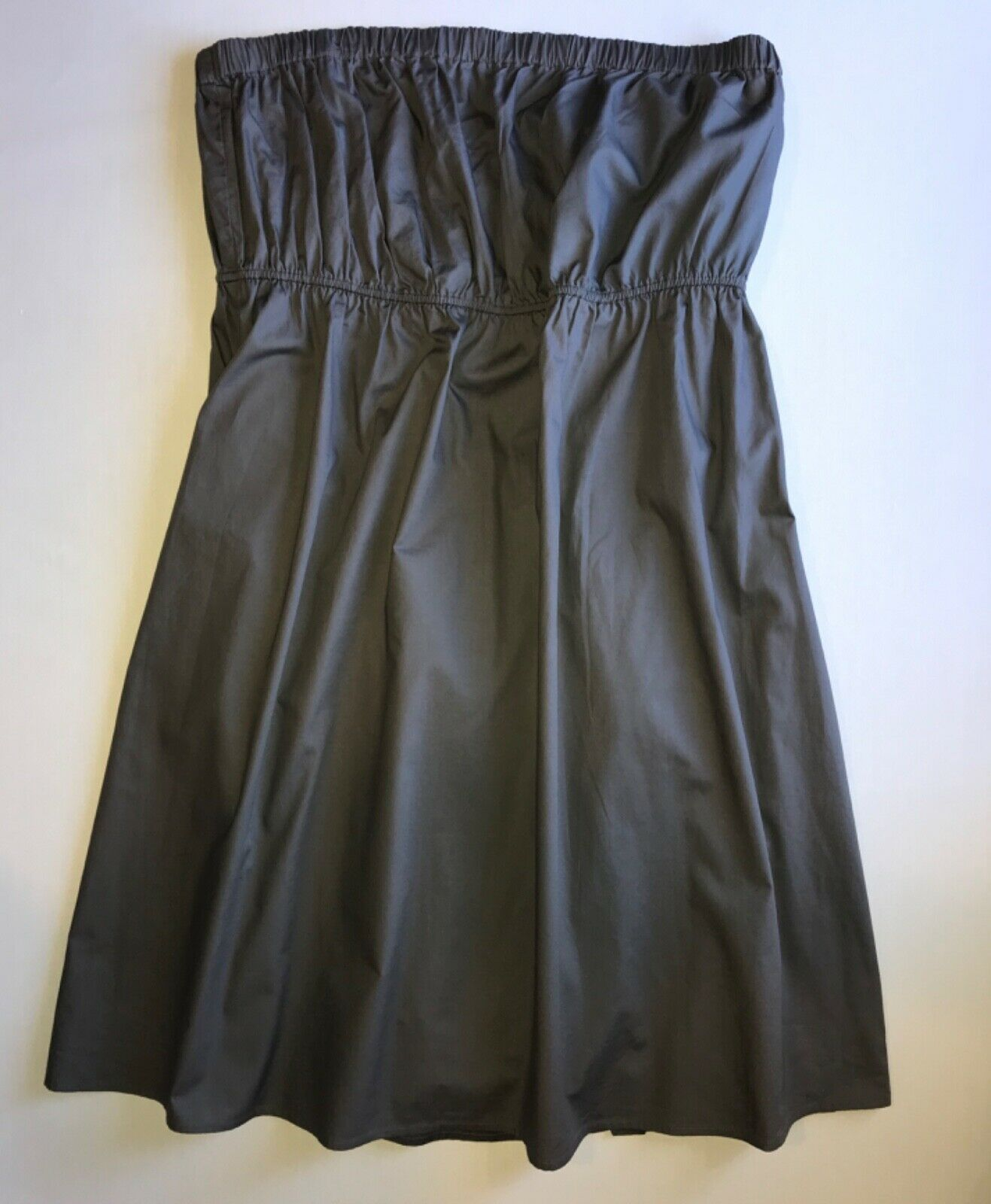 Primary image for Strapless Gray Belted Shift Dress by Daisy Fuentes in Xtra Large