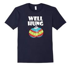 Fun New Shirts - Well Hung T Shirt Funny Christmas Decoration Balls Men - $19.95+