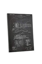 "Pingo World 0609QSWGZSG ""Fender Guitar Tremolo Patent"" Gallery Wrapped C... - $48.46"