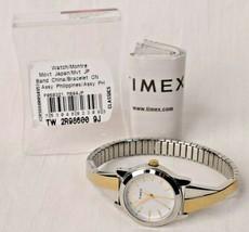 Timex Women's TW2R98600 Stretch Bangle Crisscross, Two-Tone, Watch - $37.61