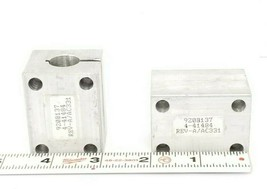 LOT OF 2 GENERIC 920B137 CLAMP FLAP GUIDES 4-41484 REV-A / AC331