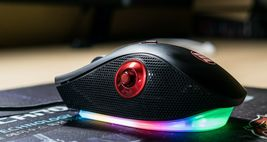 Micronics G70 USB Wired Gaming Mouse RGB Effect 12000DPI image 6