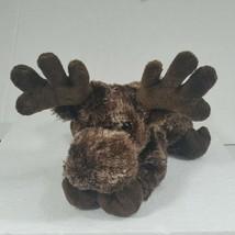 Aurora Plush Moose Stuffed Animal Toy Brown - $9.42