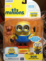 "Disney Toys Despicable Me Minion 4"" Pose-able Bob with Teddy bear and lu... - $38.00"
