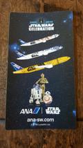 2016 STAR WARS CELEBRATION EUROPE ANA JAPAN PROMO CARD STICKER BB-8 R2-D... - $14.84
