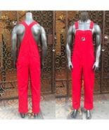 Men's Red Fila Fashion Overall - $145.00
