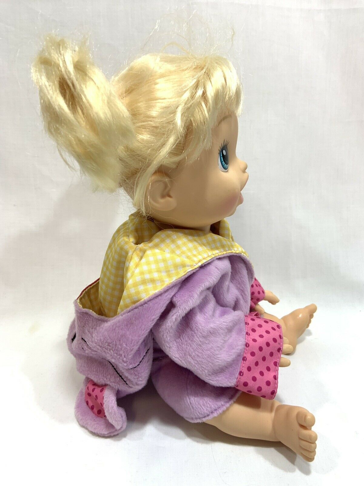 Baby Alive Hasbro 2013 Blonde Doll Interactive Talking Bilingual English Spanish image 4