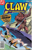 Claw The Unconquered Comic Book #11, DC Comics 1978 VERY FINE- - $3.75