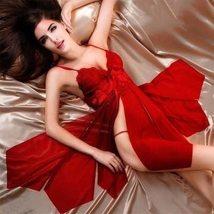 Women's Sexy Lingerie Lace Set See Through Babydoll Sleepwear Dress