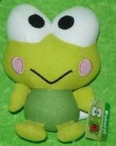 "Keroppi Sanrio Hello Kitty Frog 2013 Fiesta 10.5"" Plush Toy Soft Croak Green NEW - $19.70"