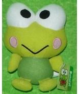 "Keroppi Sanrio Hello Kitty Frog 2013 Fiesta 10.5"" Plush Toy Soft Croak G... - $19.70"