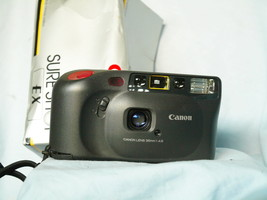 Canon Sure Shot EX Point And Shoot Quality 35mm Compact Camera   -Nice - $30.00