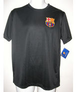 New Messi FCB Barcelona Soccer Jersey Shirt, Black Sz M Medium, Free Shi... - $24.88
