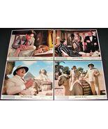 4 1978 Movie DEATH ON THE NILE Lobby Cards Peter Ustinov Mia Farrow Agat... - $32.95