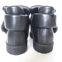 1926359 Uomo w ZANOTTI Freizeit NEU 41 schwarz Sneaker Schuhgröße GIUSEPPE Hohe 6drd0q