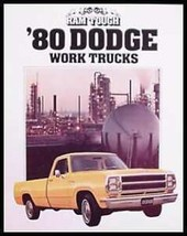1980 Dodge Work Truck Brochure, Pickup Van D-50, Original 80 - $8.31