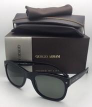 Neuf Giorgio Armani Lunettes de Soleil Ar 8008 5017/58 54-20 Cadre Noir - $250.71