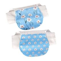 Sweat Absorbent Washcloths Mat Towels 2 Pcs Lovely Baby Soft Cotton Gauze Towels