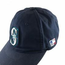Seattle Mariners MLB Baseball Cap Hat Cotton Blue OSFM Fan Souvenir - $21.37