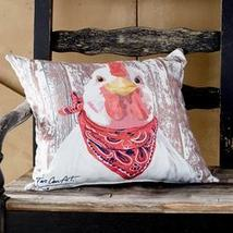 Indoor/Outdoor Animal Pillow Chicken - $24.27