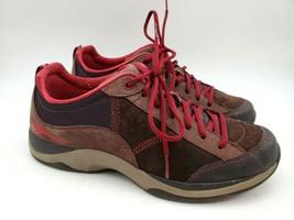 Dansko Sabrina Walking Shoes Brown Leather Women's Lace-up Size 9.5 US 40 EU - $67.31
