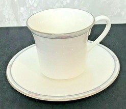 Royal Doulton Simplicity Footed Cup and Saucer Set - $8.59