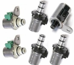 FORD-MAZDA 4F27E Transmission Shift Solenoid Set Focus/1999-Up ALL 6 SOLENOIDS! - $78.21