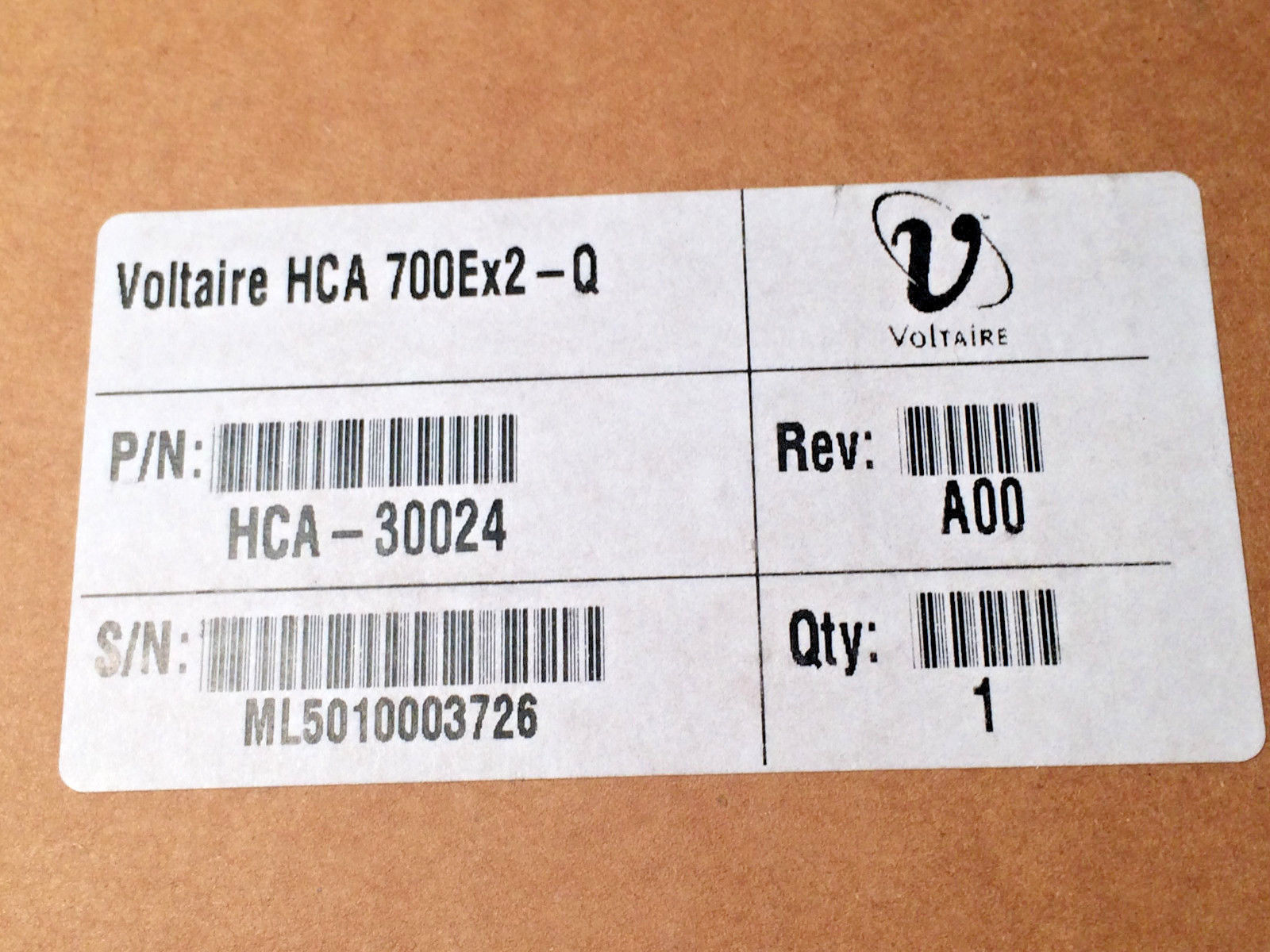 Voltaire IB Card HCA 700Ex2-Q QDR Dual Port HCA-30024 includes an LP Bracket New