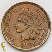 1906 Indian Head Cent 1c Penny (Choice BU Condition) Excellent Eye Appeal! - $38.61