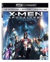 X-men: Apocalypse [4K Ultra HD + Blu-ray]