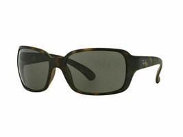 Ray ban Sonnenbrille RB4068 894/58 60 Havana Rahmen Grün Polarisierte Linse - $122.40