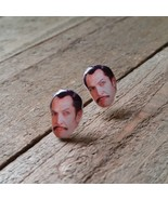 Vincent Price Earrings Handmade - $5.82
