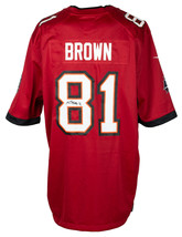 Antonio Brown Signed Tampa Bay Buccaneers Red Nike Football Jersey JSA ITP - $326.69