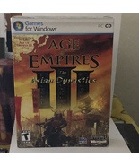 Age of Empires III 3: The Asian Dynasties Expansion Pack PC CD Windows X... - $19.99