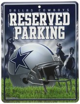 NFL Dallas Cowboys Hi-Res Metal Parking Sign - $6.92