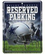 NFL Dallas Cowboys Hi-Res Metal Parking Sign - $6.92