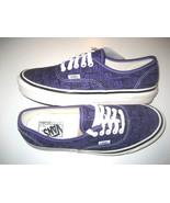 Vans Mens Authentic 44 DX Anaheim Factory Og Brig Purple Skate shoes Siz... - $64.34