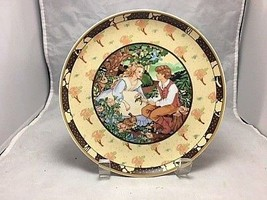Roses Are Red Decorative porcelain plate by Villeroy Boch,Once Upon A R... - $11.83