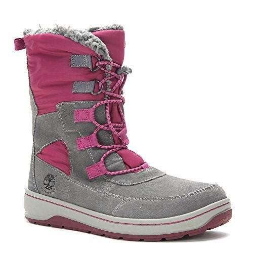 Timberland Kids Winterfest Waterproof Insulated Boot TB0A13O3065 Grey (US 4.5Y)