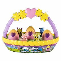 Hatchimals CollEGGtibles Easter Basket with 6 Hatchimals CollEGGtibles - $12.87