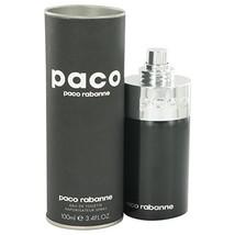 Paco Rabanne Paco Eau de Toilette 3.4 oz Silver Bottle Unisex Spray - $41.79