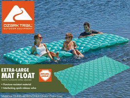 Ozark Trail Paradise Lounge Pool Float image 1