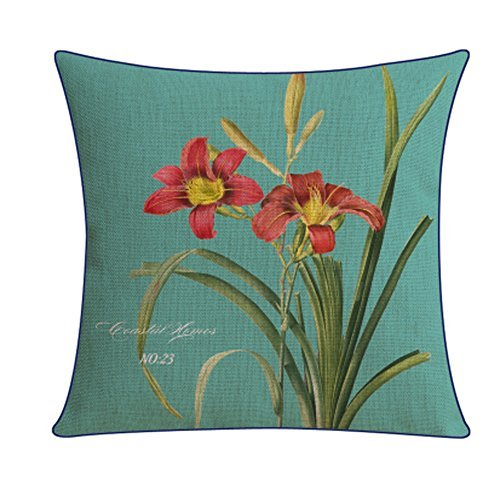 Kylin Express Beautiful American Pastoral Thick Cotton Pillow Case,T - $20.58