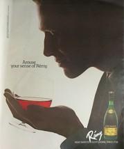Vintage 1983 Remy Martin V.S.O.P Cognac Full Page Original Ad - 721 - $6.64