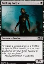 Magic The Gathering-Welcome Deck 2016-WALKING Corpse - $0.09